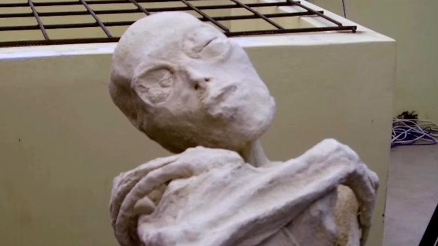 Múmia Maria Tres Dedos do Peru