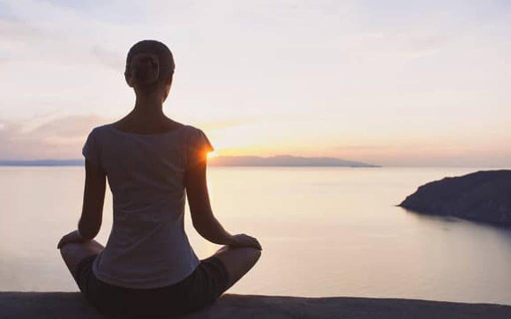 A chave é estar no presente e consciente de mim mesmo como sendo um ser espiritual
