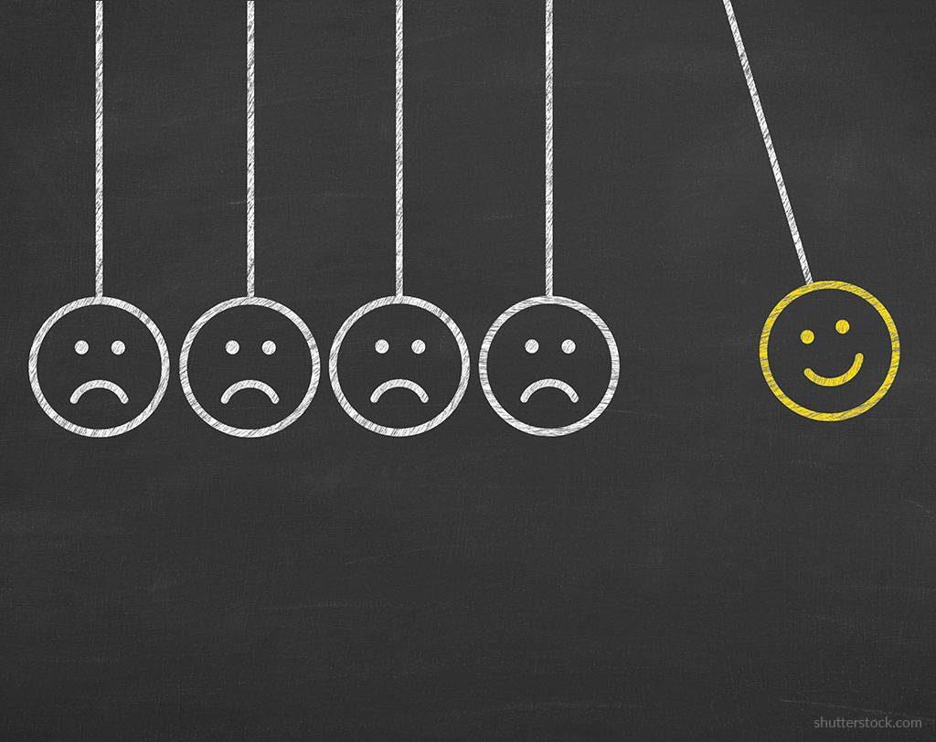 positividade versus negatividade